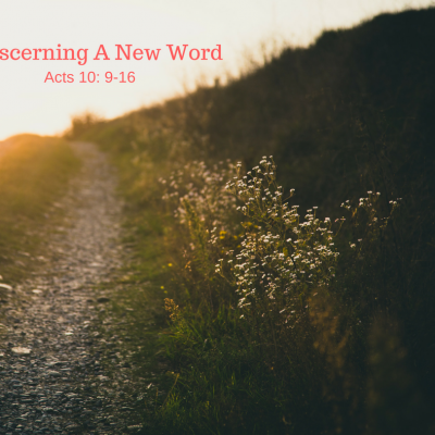 Receiving A New Word